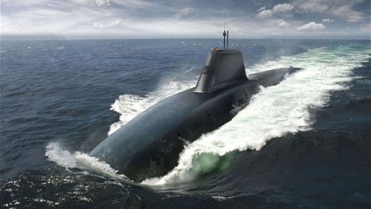 'Successor' To Ageing Trident Subs One Step Closer
