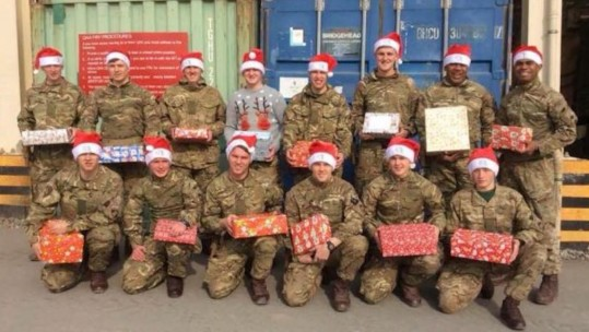 treats for troops afghanistan