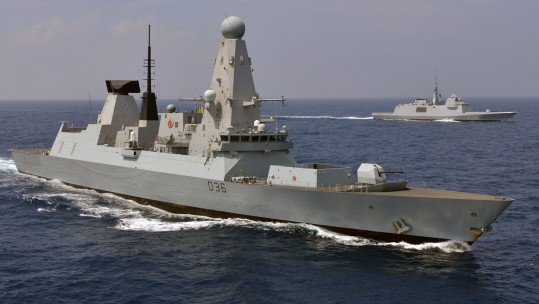 Figures Show 5,000 Faults Recorded On Type 45 Destroyers
