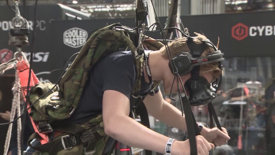 VR Parachute Training