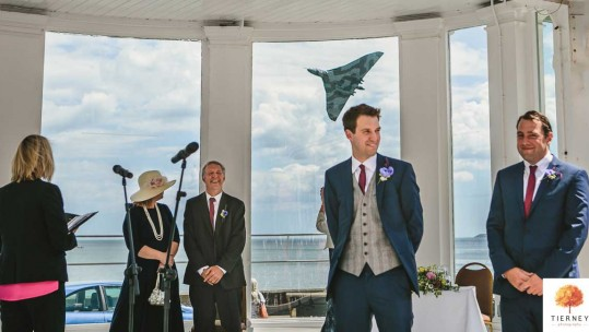 Vulcan Photobomber Steals The Spotlight At Wedding