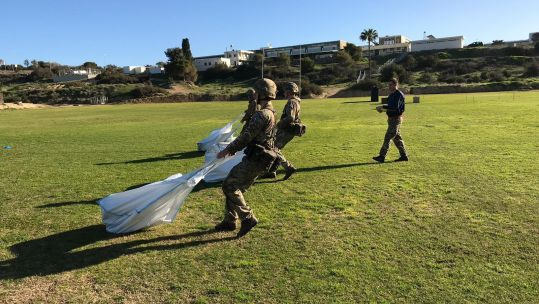 New British Army Physical Employment Standards tested in Cyprus