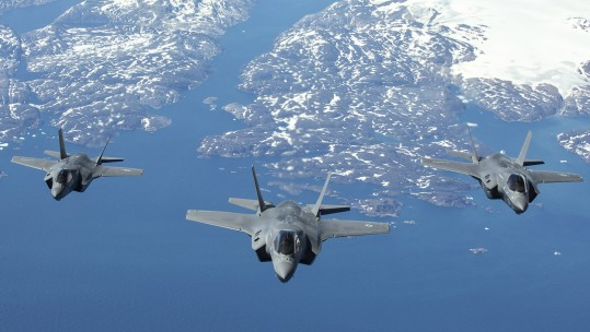 F35 Stealth Fighter Jets