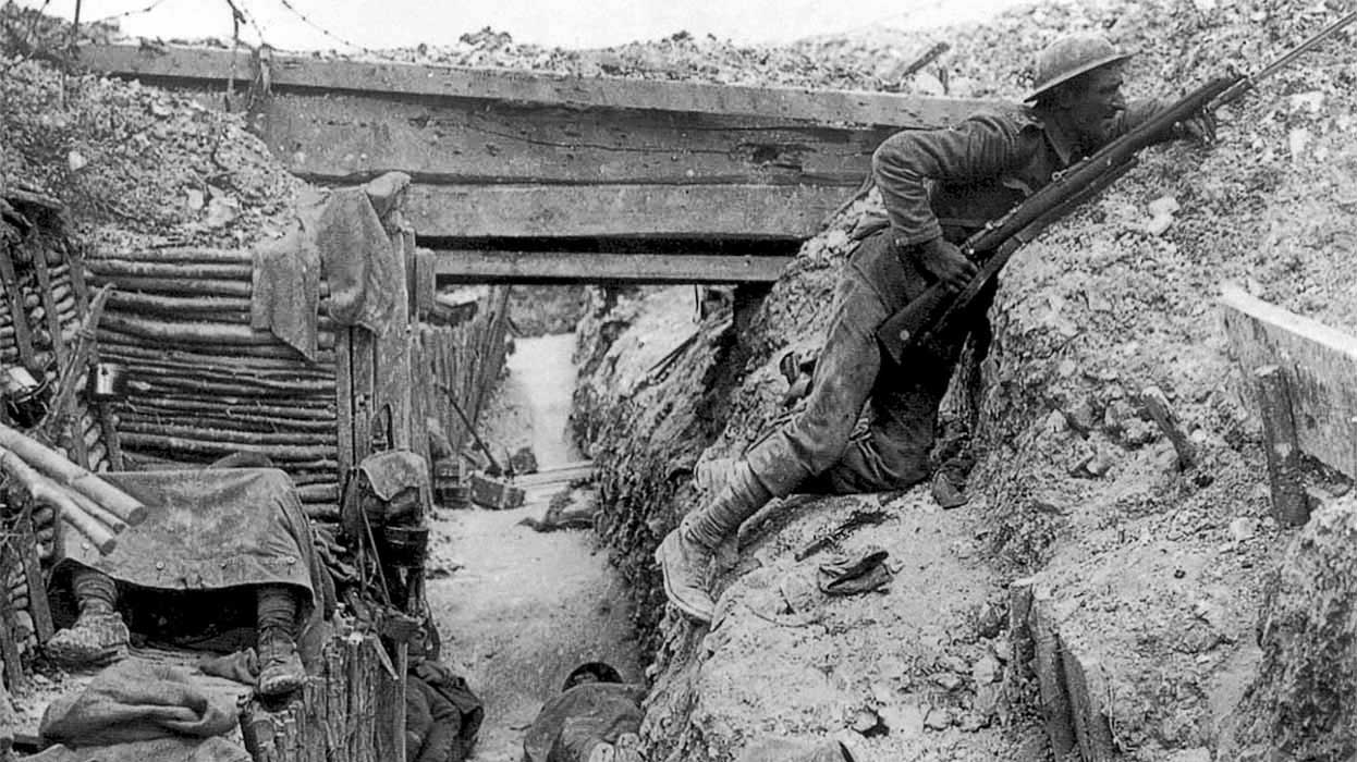 was life in the trenches hell
