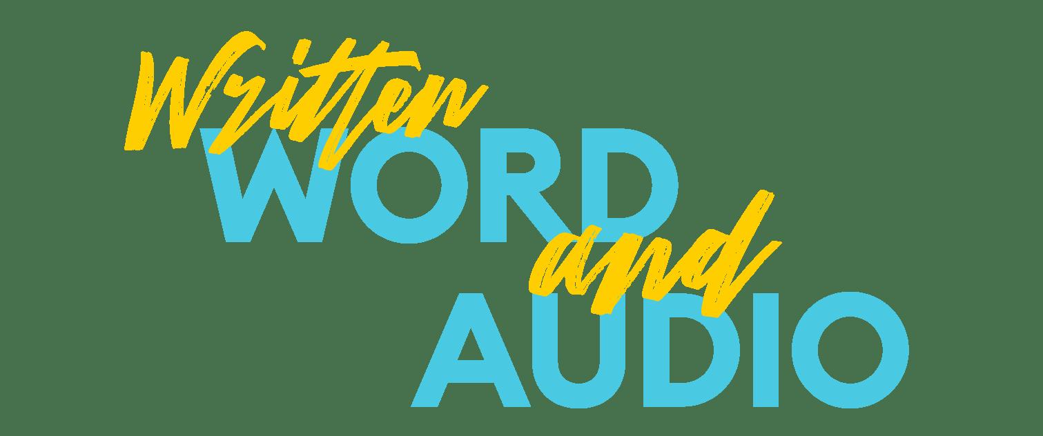 Written Word and Audio Winner